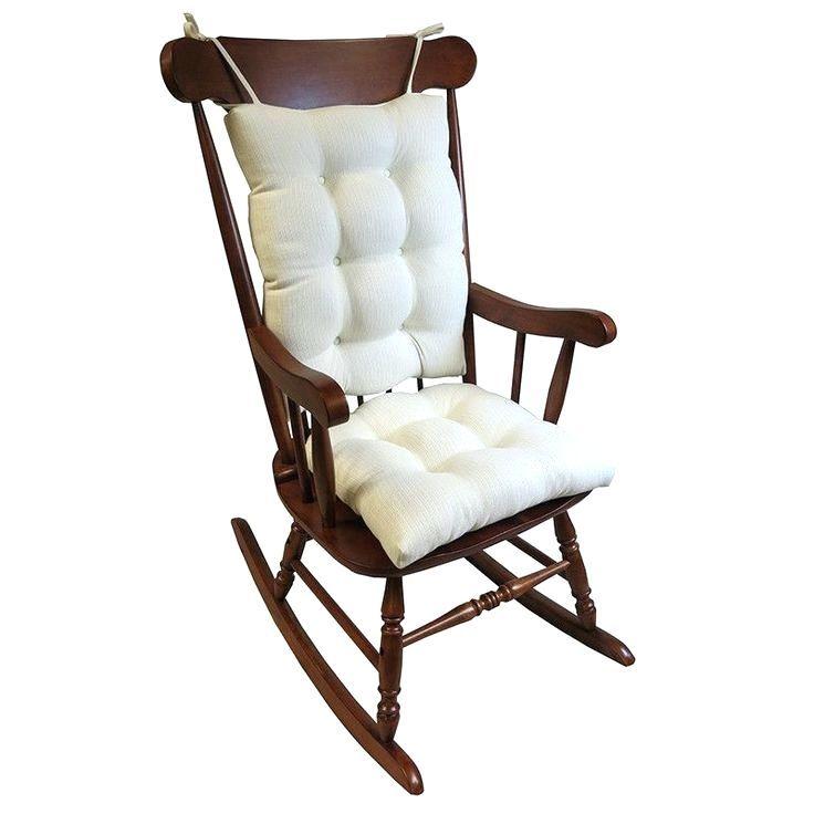 One Piece Rocking Chair Cushions Allodala Oasis Outdoor Dining Chair Cushion Omega 2 Piece Rocking Rocking Chair One Piece Rocking Chair Cushions