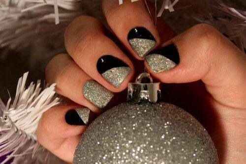 Great New Years Eve nail design