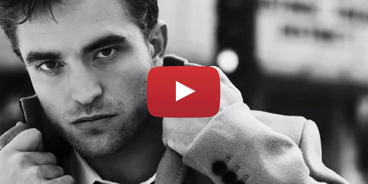 Watch and Drool: Robert Pattinson's New Dior Homme Ad Is Here  - Cosmopolitan.com