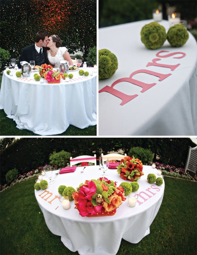 Bride And Groom Table The Day I Will Promise To Be Yours Forever