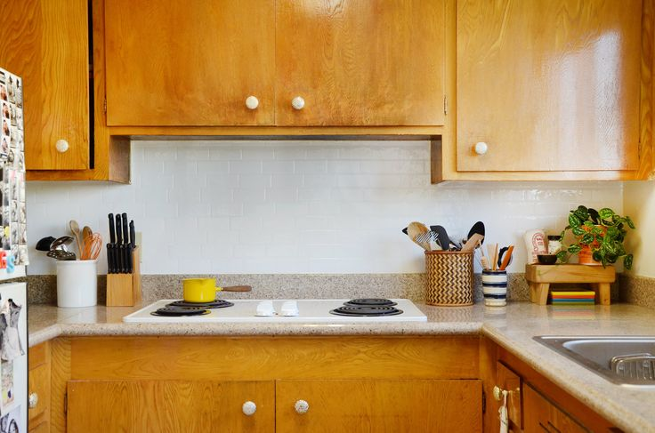 not in love with your backsplash we tested adhesive removable smart