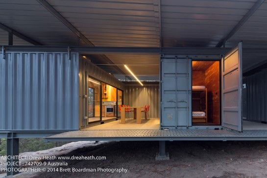 38 best images about shipping container on pinterest boathouse shipping container pool and - Bob vila shipping container homes ...