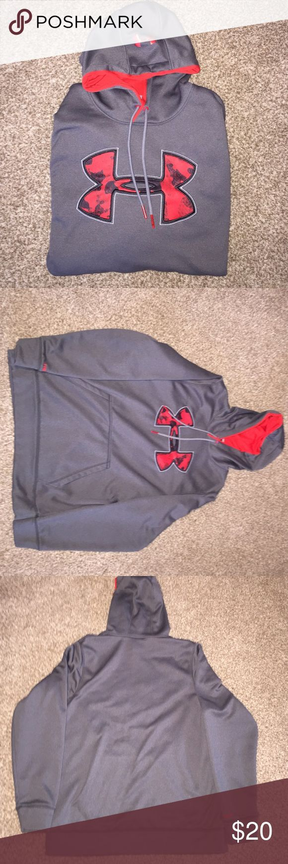 Under Armour Hoodie brand new Brand new UA hoodie, size medium men's but could easily fit a large. No holes, stains, etc. never worn. Open to offers Under Armour Jackets & Coats