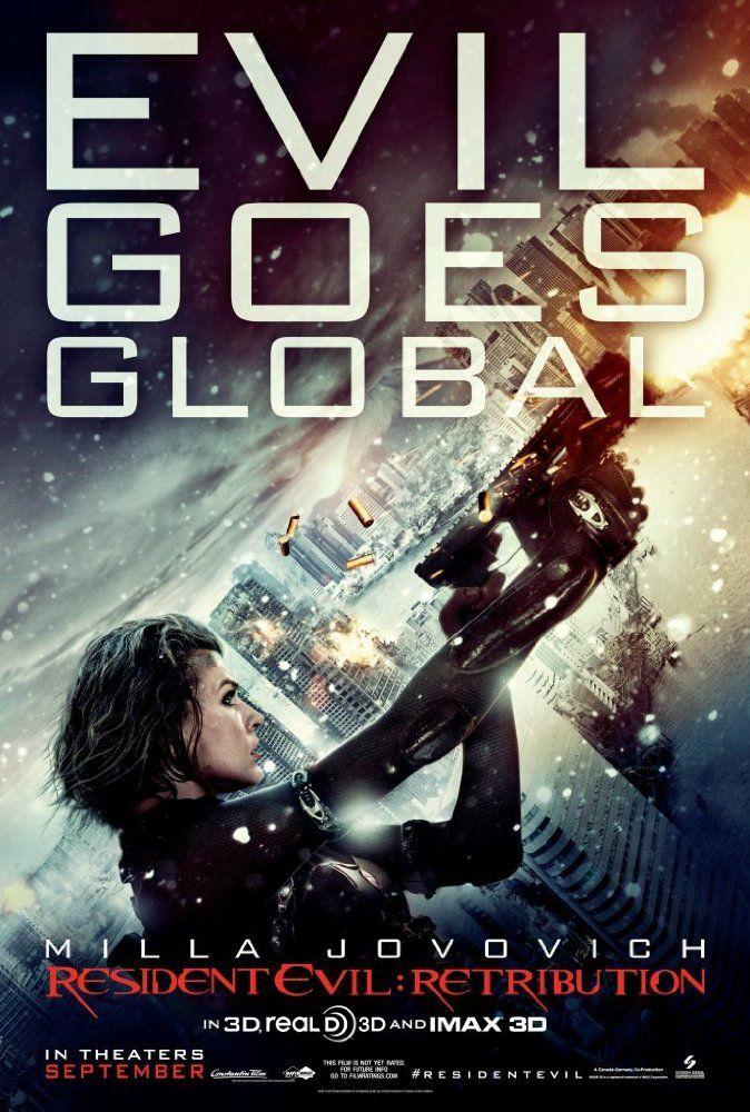 """مشاهدة Resident Evil Retribution 2012 اونلاين وتحميل مباشر تستمر """"أليس"""" في القتال إلى جانب حركة المقاومة في المعركة المستمرة ضد مؤسسة المظلة التي عدلتها جينيا منذ البداية محاولة الهروب …"""