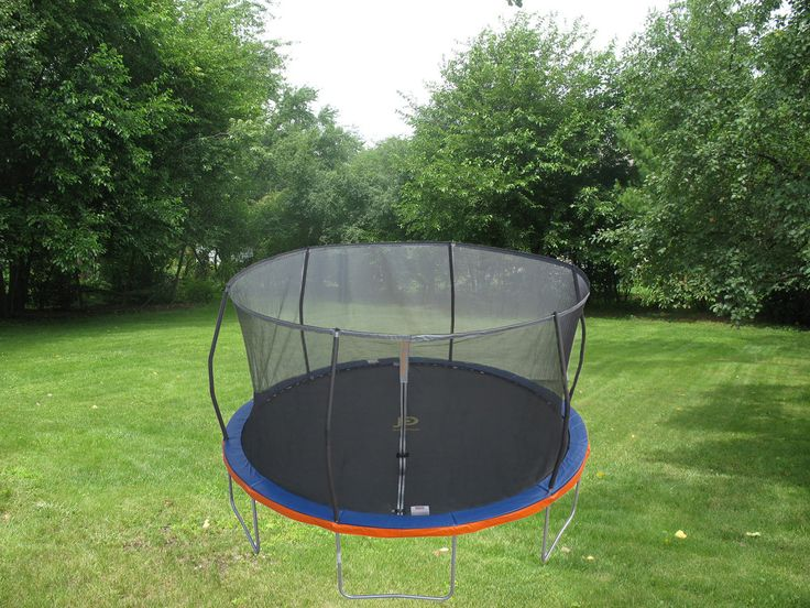 14ft. Trampoline & Patented Safety Net Enclosure Combo