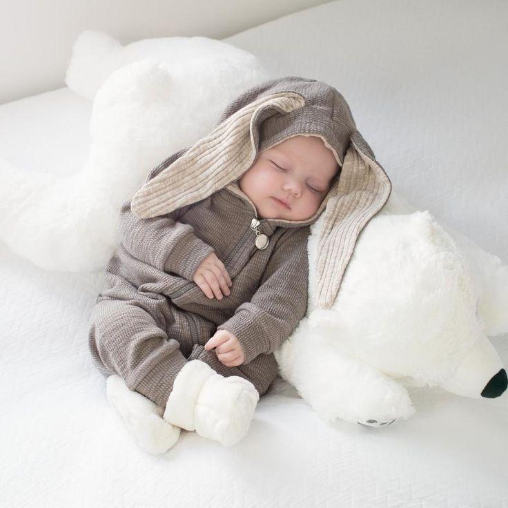Bunny Ear Baby Romper