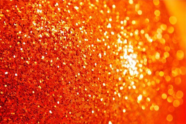 Orange!!!  orange sparkle