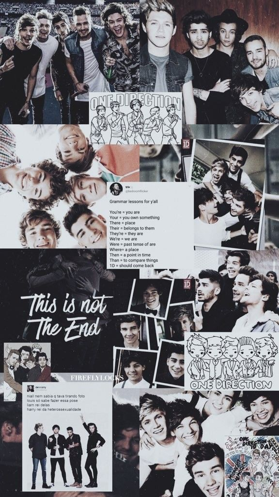 Pin By Abhit666 On One Direction 1 D One Direction Wallpaper One Direction Collage One Direction