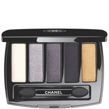 An eye palette for a multitude of makeup looks. Five timeless shades with matte and iridescent finishes: silver white, lavender grey, intense grey, absolute black and antique gold.2 double-tipped applicators:- a sponge tip to apply the shadow as eyeliner or in colour blocks- a brush tip to...