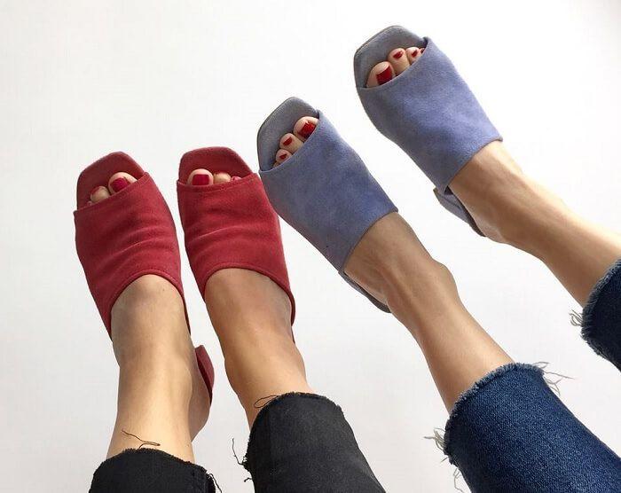 Obuwie Damskie W Zalando Wyprzedaz Newsweek Heeled Mules Shoes Mule Shoe