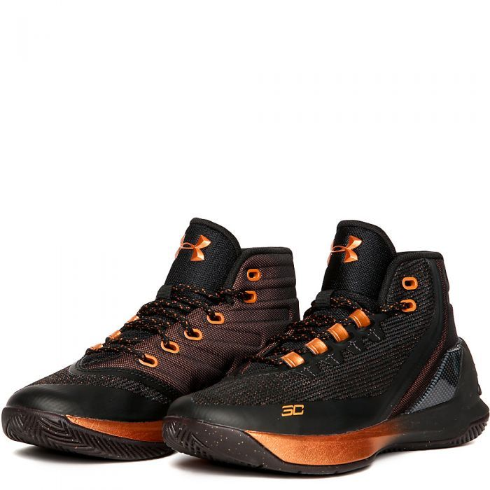 Juniors Curry 3 Basketball Sneakers
