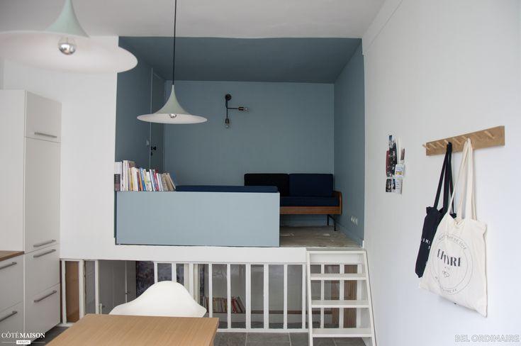 Appartement atelier à Paris, Bel Ordinaire - Côté Maison