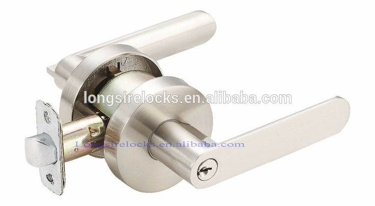 keyed entrance door knob lock set
