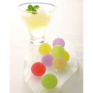 Japanese Sweets, 5つの味が楽しめる和のゼリー。【<徳島・茜 庵>ゆうたま・柚子じゅうす詰合せ】