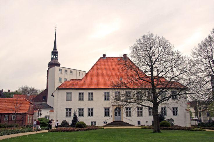 Itzehoe Prinzeßhof und Kirche von Ulf Steinhauer