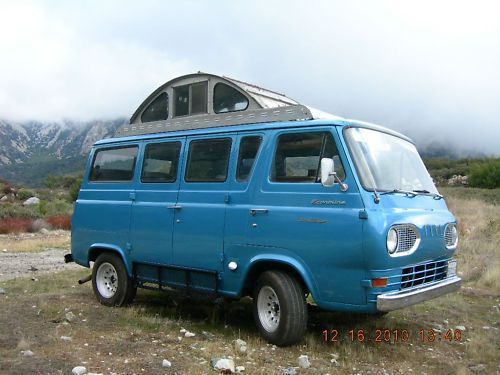 1962 Ford E Series Travel Wagon Camper Van For Sale 5