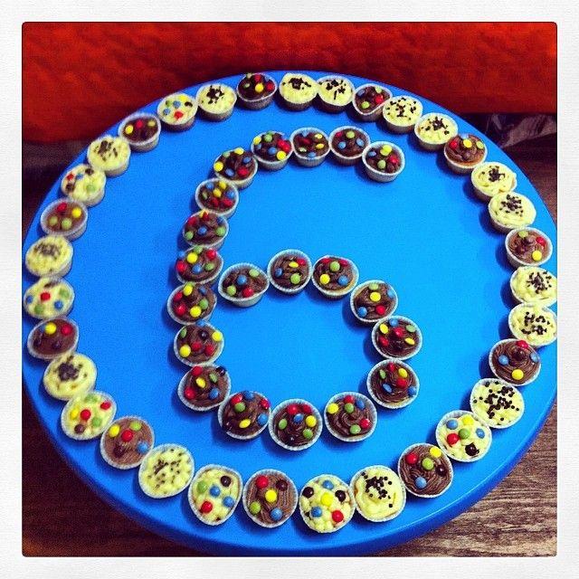 composizione di #cupcake #cioccolato #cremapasticcera #fattincasa #diy