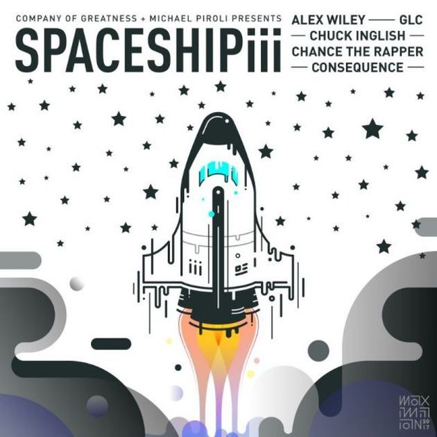 """Consequence mashes Kanye West's """"Spaceship"""" with Alex Wiley's """"Spaceship 2"""" featuring Chance The Rapper and GLC to create his new single """"Spaceship 3"""". He had this to say about the r"""
