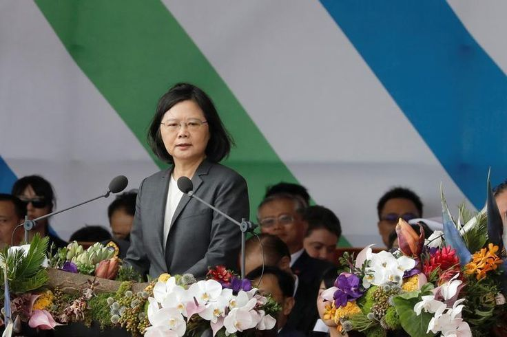 Taiwanese President Tsai Ing-wen landed in Honolulu on Saturday en route to the island's diplomatic allies among Pacific nations and set off for a visit to a Pearl Harbor memorial, despite strong objections to the visit from China.