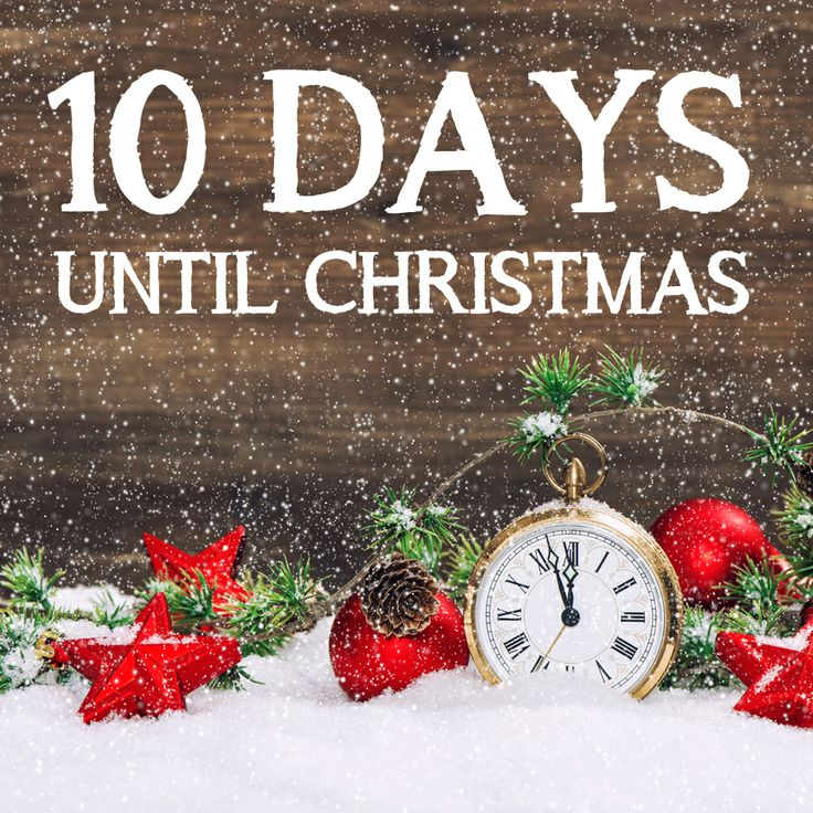 Yesterday signified 10 days until Christmas! To help you