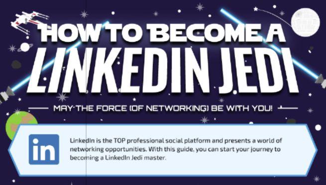 Come diventare un Linkedin Jedi Che la forza (del networking) sia con te! Infografica: http://www.gryffin.com/become-a-linkedin-jedi  How to Become a LinkedIn Jedi May the Force (of Networking) Be With You! Infographic: http://www.gryffin.com/become-a-linkedin-jedi  #linkedin #networking #Infographic