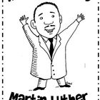 Birthday Card for Martin Luther King, Jr. {Freebie download on TpT}