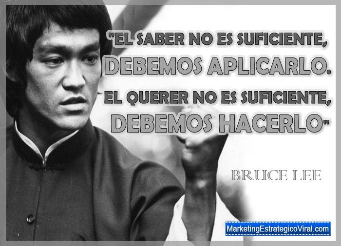 Frases Importantes De Pensadores: Frases De Bruce Lee, Frases Célebres De Bruce Lee