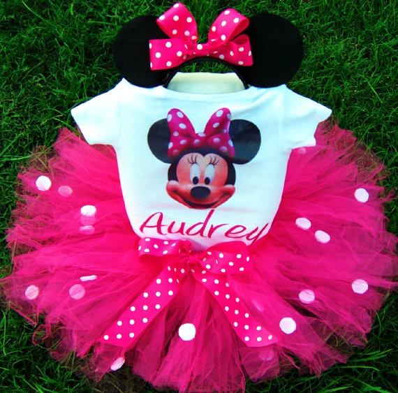 1st Birthday Minnie Mouse Tutu: Birthday Minnie, Birthday Parties, Bday Ideas, Minnie Mouse, First Birthday, Parties Ideas, 1St Birthdays, Tutu Outfits, Birthday Ideas