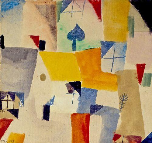 Window, 1917-19 - Paul Klee Prints - Easyart.com