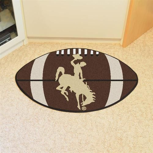 University of Wyoming Cowboys Football Floor Rug Mat