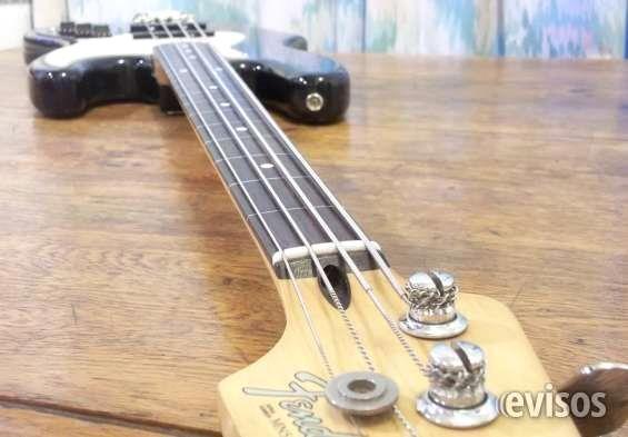 Bajo Fender Jazz Bass fretless Mexico 1996. Â¡El sonido de Jaco! Bajo Fender Jazz Bass fretless Mexico 1996. Original, poco uso,excelente estado. Mastil de maple y ... http://rosario.evisos.com.ar/bajo-fender-jazz-bass-fretless-mexico-1996-a-el-sonido-de-jaco-id-979311