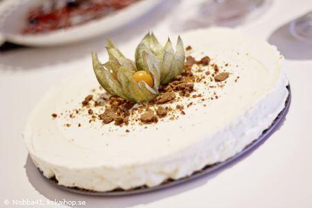 Recept - Apelsin- och pepparkakscheesecake (Gunilla)
