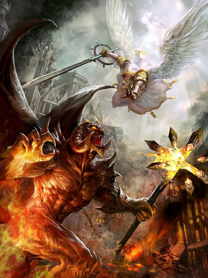 Abigali vs her twin bother Sabnock A war of creatures of the night vs Demons of Hell