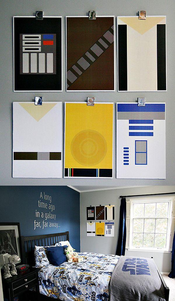 38 best Star Wars Boy\'s Bedroom images on Pinterest   Kid bedrooms ...