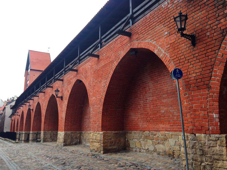 the old city walls of Riga, Latvia **** read more about Riga and my travels on jump-on-board.com