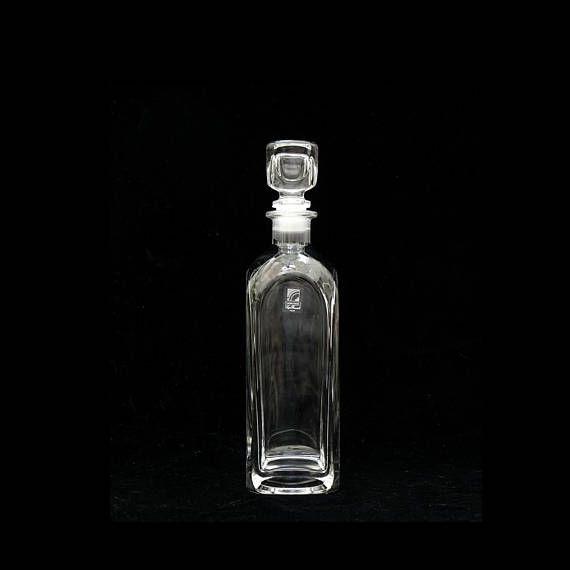 Whiskey Decanter Light and Music Luigi Bormioli Clear Glass