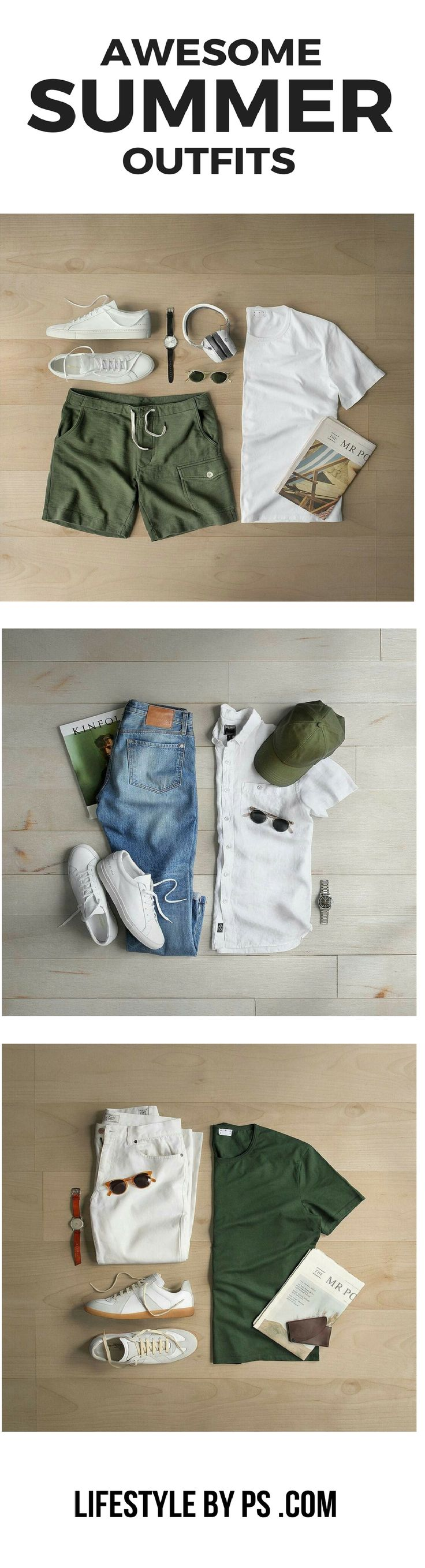 Awesome Summer Outfits for guys.