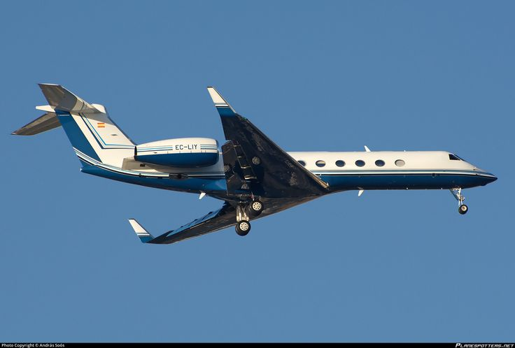 EC-LIY Gestair Gulfstream Aerospace G-V-SP Gulfstream G550