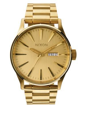 NIXON Sentry Stainless Steel Watch. #nixon #watch