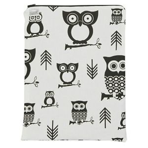 Brownie Gifts Black and White Owl Wet Bag. Delivery is Free  | eBay