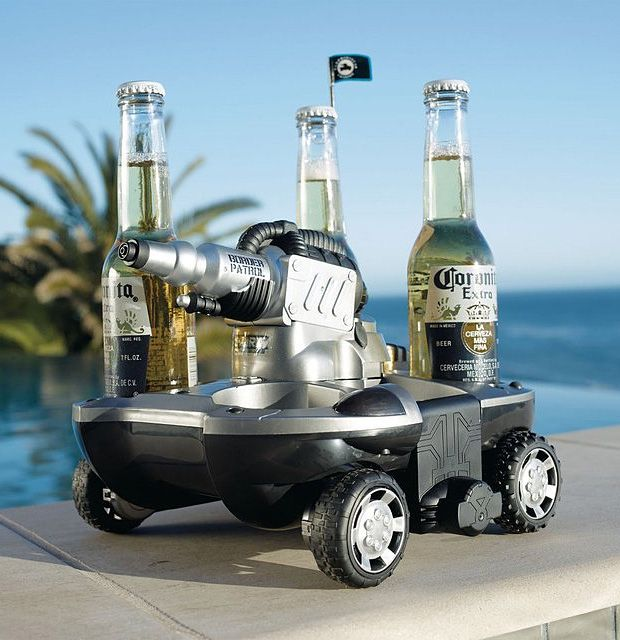 Summer Is Having An RC Amphibious Vehicle That Brings You Beer
