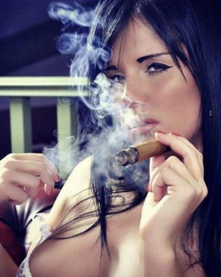 Cigar smoker sexy