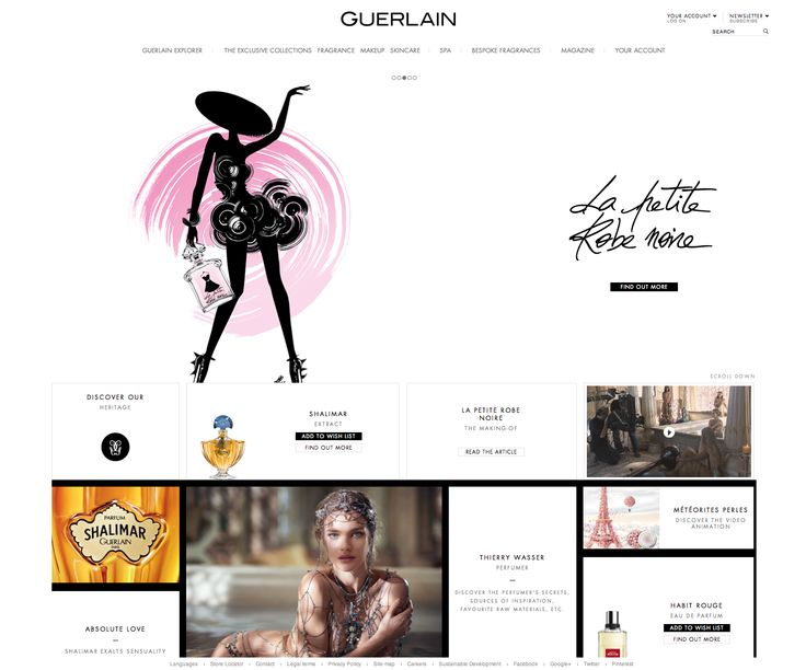 Guerlain Ecomm - Homepage http://www.guerlain.com/int/en-int/