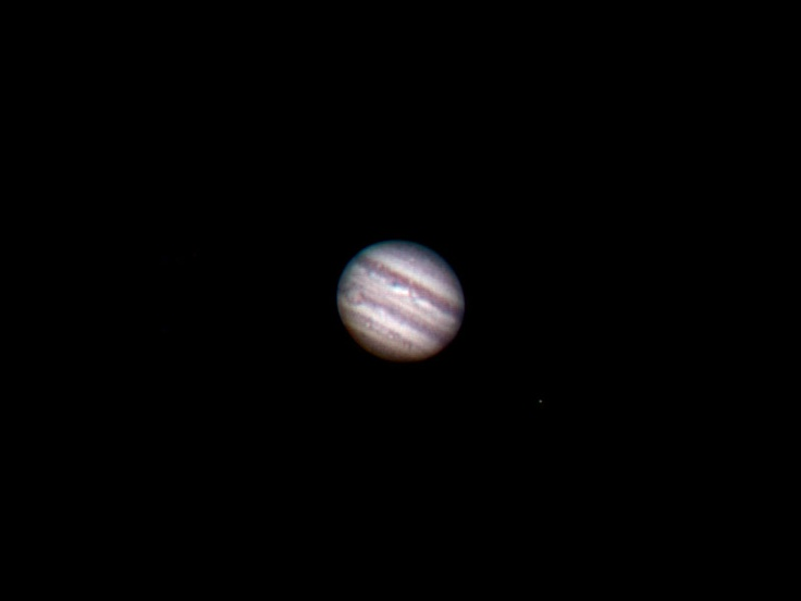 #astrophotography #planet #Jupiter #imaged with SkyWatcher ED120 #telescope and Vesta PRO webcam. #astrofotografia #pianeta #Giove ripreso con #telescopio SkyWatcher ED120 e webcam Vesta PRO.