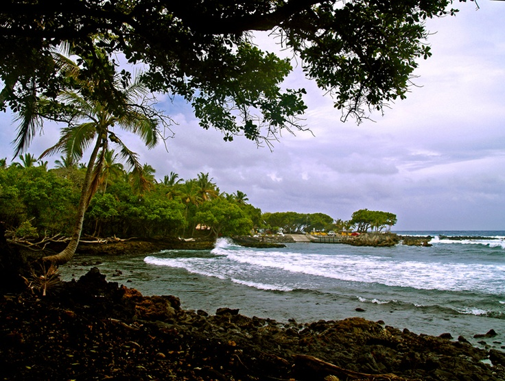 Pohoiki Bay, Puna Hawaii