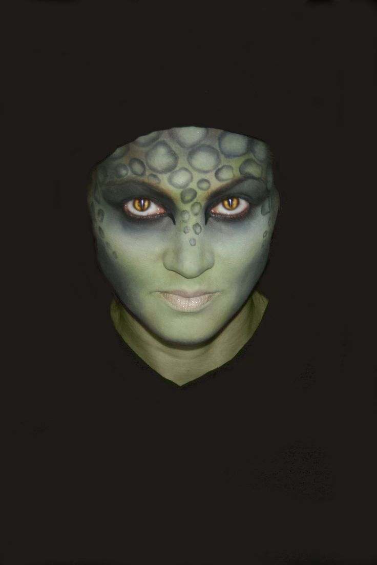 lizard face paint for adults