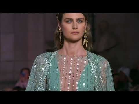 GEORGES HOBEIKA Spring Summer 2018 Couture Show - YouTube