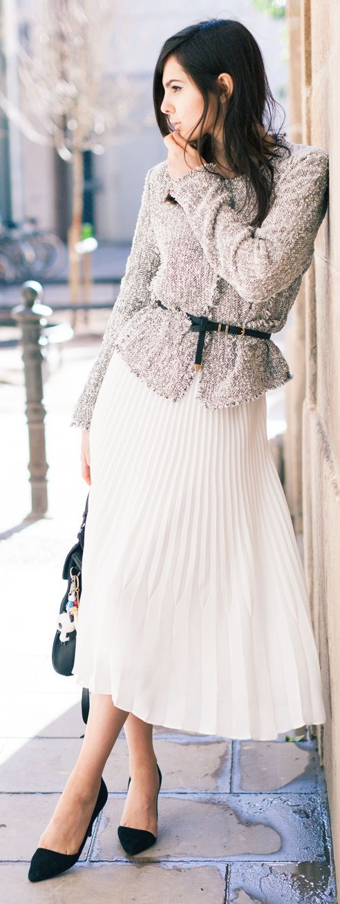 Chanel Ladylike Style Inspiration Outfit by The Golden Diamonds