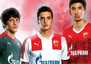 Red Star Belgrade 2014/15 PUMA Home, Away and Third Kits