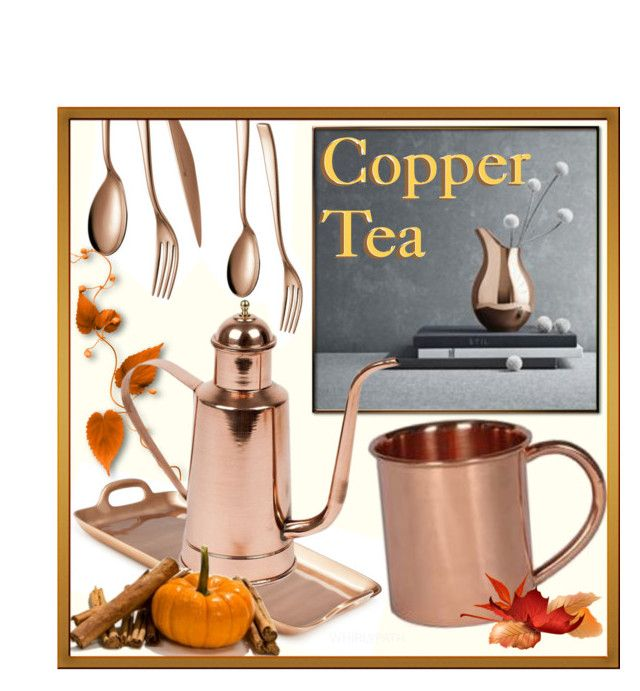Copper Tea! by whirlypath on Polyvore featuring interior, interiors, interior design, home, home decor, interior decorating, Simplydesignz, Eligo and kitchen